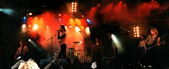 HIM (Finnish band) - HIM performing at Provinssirock in June 1999