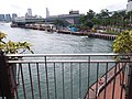 HK 上環 Sheung Wan north 干諾道中 Connaught Road Central Victoria Harbour Government Piers morning August 2019 SSG 12.jpg