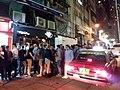 HK 中環 Central 香港蘇豪區 Soho night 依利近街 Elgin Street n 士丹頓街 Staunton Street October 2018 SSG 13.jpg