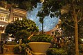 HK 灣仔 Wan Chai 利東街 Lee Tung The Avenue night 月球博物館 big Moon Museum by UK Luke Jerram October 2017 IX1 01.jpg