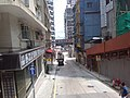 HK Bus 101 view 西環 Sai Wan 皇后大道西 Queen's Road West August 2018 SSG 05 朝光街 Chiu Kwong Street.jpg