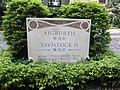 HK Mid-Levels 10A-12 Tregunter Path Aigburth Tavistock name sign Oct-2012.JPG