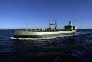 HMAS Westralia (O 195) - Westralia in 2001