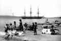 HMS Wolverine (1863) at Lady Macquaries Point.png