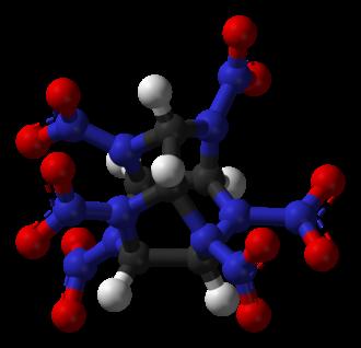 Hexanitrohexaazaisowurtzitane - Image: HNIW 3D balls