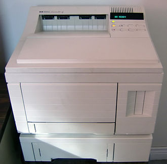 HP LaserJet - HP LaserJet 4 series printer