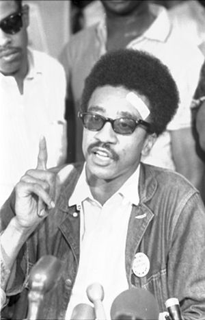 Johari Abdul-Malik - H. Rap Brown in 1967
