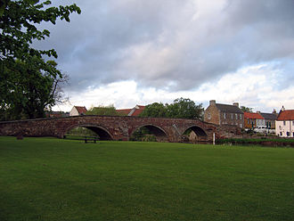 Haddington, East Lothian - Nungate Bridge, Haddington