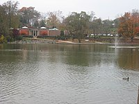 Hagerstown City Park Lake and Wash Co Mus Fine Arts.JPG