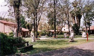 Al-Khisas - Former manor house of Emir Faour of Al-Khisas, now a hotel in kibbutz HaGoshrim.