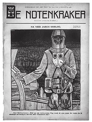 Albert Hahn - Hahn's last cover illustration.