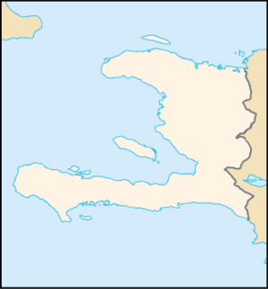 Battle of Jean-Rabel - Image: Haiti locator