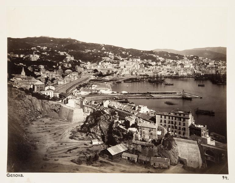 File:Hamnen i Genua - Hallwylska museet - 107412.tif