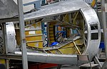 Handley Page Victor Mk.1A tail cone under restoration, Imperial War Museum, Duxford, May 19th 2018. (46679589921).jpg