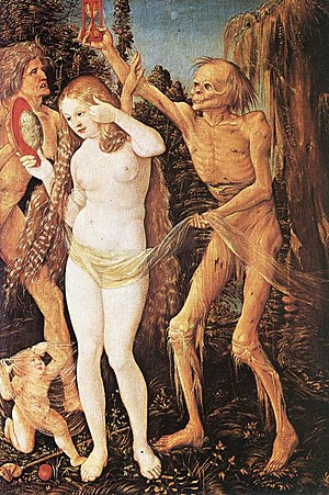1510 in art - Baldung – Three Ages of the Woman and the Death, Kunsthistorisches Museum