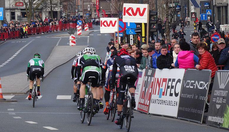 Harelbeke - Driedaagse van West-Vlaanderen, etappe 1, 7 maart 2015, aankomst (A54).JPG