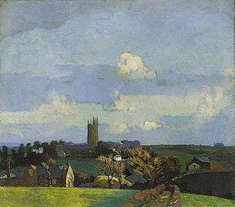 Harold Harvey (artist) - Image: Harold Harvey A view of Paul Newlyn Cornwall