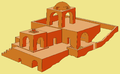 Harpak Fire Temple in Abyaneh (reconstruction).PNG