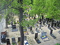 Hauptfriedhof Wuerzburg from bridge in east 05.jpg