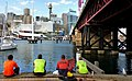 "Having a ""teabreak"" Darling Harbour.Sydney. (21354639421).jpg"