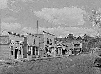 Hayden, Colorado - Hayden, Colorado, in 1942.