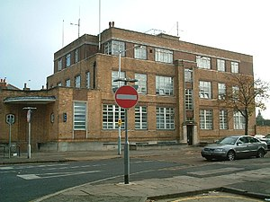 Hayes, Hillingdon - Hayes Police Station, on the Uxbridge Road