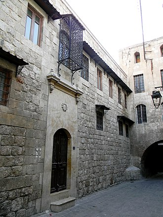 Forty Martyrs Cathedral - An early 17th century alley at the backside of the cathedral, leading to the old Armenian quarter of Hokedoun