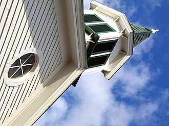 Haymarket, Virginia - Spire of the Haymarket Museum