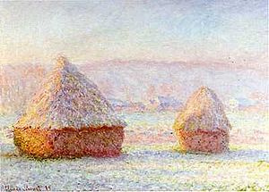 Haystacks (Monet series) - Image: Haystacks 1989