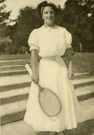 Hazel Hotchkiss Wightman - Wightman in 1910