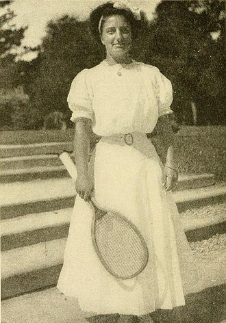 Hazel Hotchkiss Wightman - Wightman in 1910