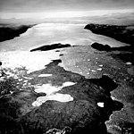 Heilprin Glacier, Calving Ice Cap, July 24, 1964 (GLACIERS 1707).jpg