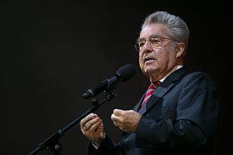 President of Austria - Image: Heinz fischer 2015 wien 1