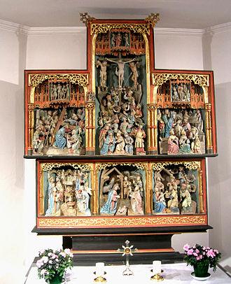 Hachiville - The Helzer Klaus altarpiece