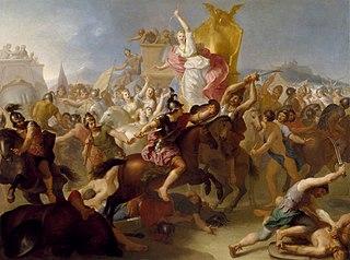 Armida Fighting the Christians