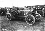 Henri Rougier in his Lorraine-Dietrich at the 1908 French Grand Prix at Dieppe.jpg