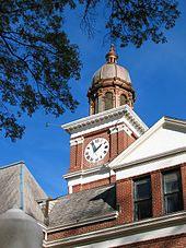 Henry county courthouse paris tennessee wikipedia tower clock and belledit sciox Choice Image
