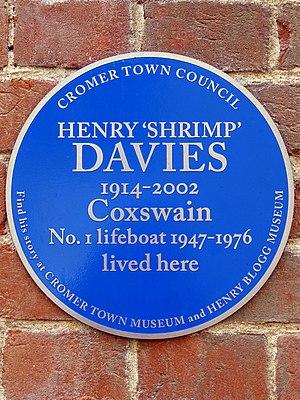 Henry Thomas Davies - Image: Henry Shrimp Davies 1914 2002