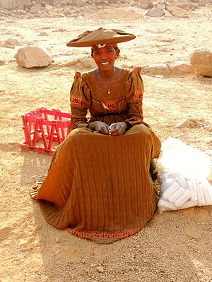 Herero people - Herero woman