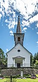 Hermagor Mitschig Pfarrkirche hl. Magdalena West-Ansicht 18062018 3608.jpg