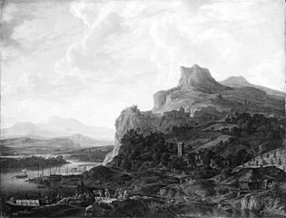 Landscape by the Rhine