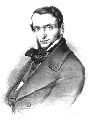 Hermann Martin Asmuss - Hermann Martin Asmuss, portrait from 1848