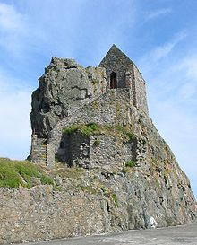 The Hermitage Of Saint Helier Lies In The Bay Off St Helier And Is Accessible On Foot At Low Tide