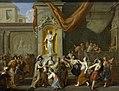 Het huwelijk van Alexander de Grote met Roxane van Bactrië Rijksmuseum SK-A-161.jpeg