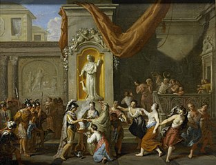Marriage of Alexander the Great, King of Macedonia, with Roxana of Bacteriane