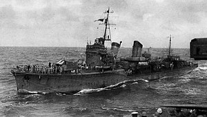 Japanese destroyer Hibiki (1932) - Image: Hibiki II