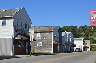Glouster, Ohio - High Street downtown