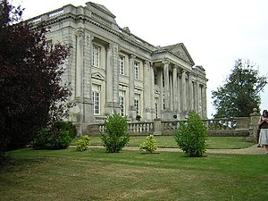 Higham Park - Palladian front of Higham Park house