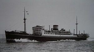 Hikawa Maru - Hikawa Maru on her maiden voyage, 22 May 1930