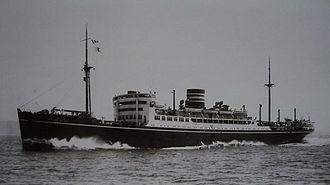Hikawa Maru-class ocean liner - Image: Hikawa Maru 1930